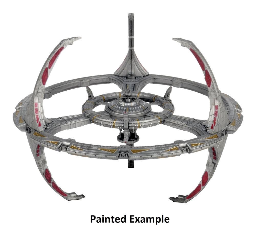 Star Trek Deep Cuts Unpainted Miniature Nor Class Orbital Space Station