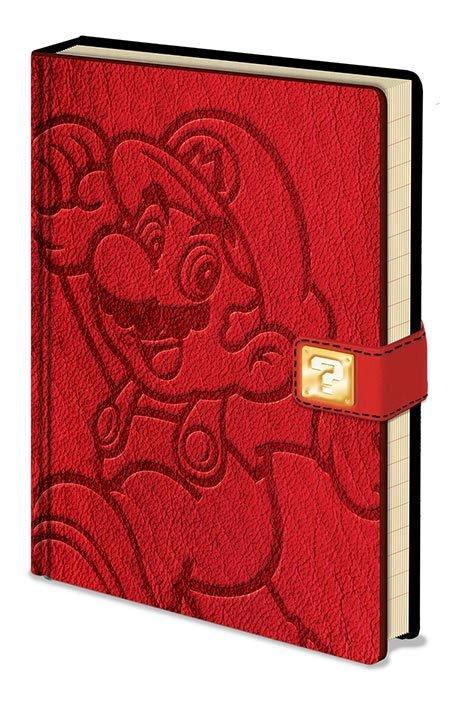 Super Mario Premium Notebook A5 Jump