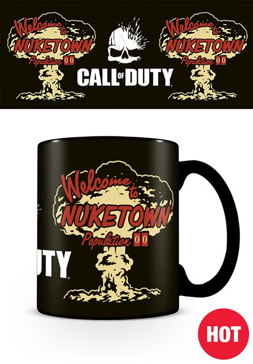 Call of Duty Heat Change Mug Nuketown