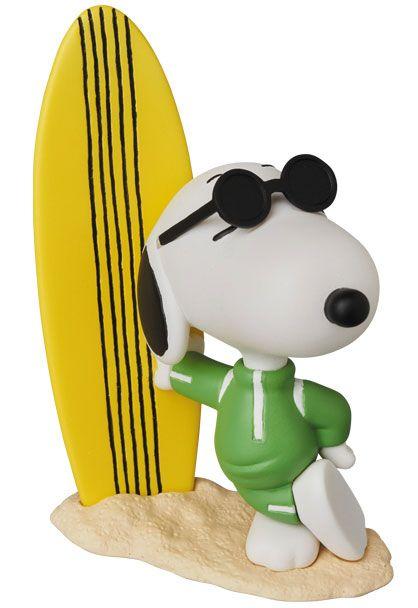 Peanuts UDF Series 8 Mini Figure Joe Cool Snoopy & Surfboard 9 cm