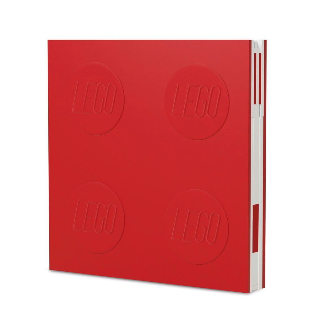 LEGO Notebook with Pen Red