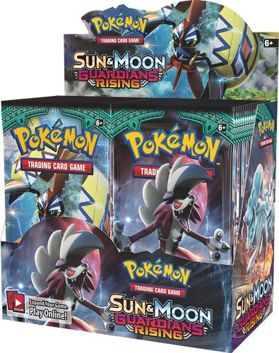 Pokemon Sun and Moon 2 Guardians Rising Booster Display (36) *English Version*