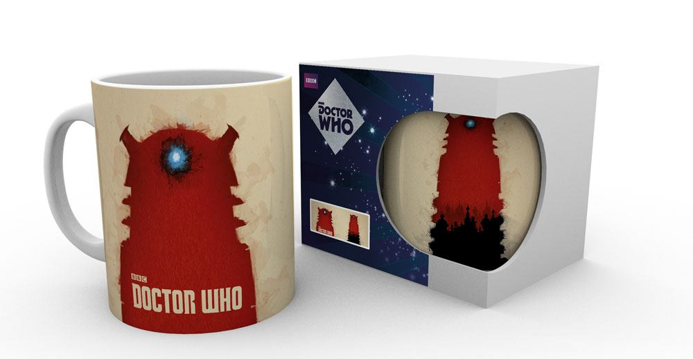 Doctor Who Mug Shadowfield Dalek heo Exclusive