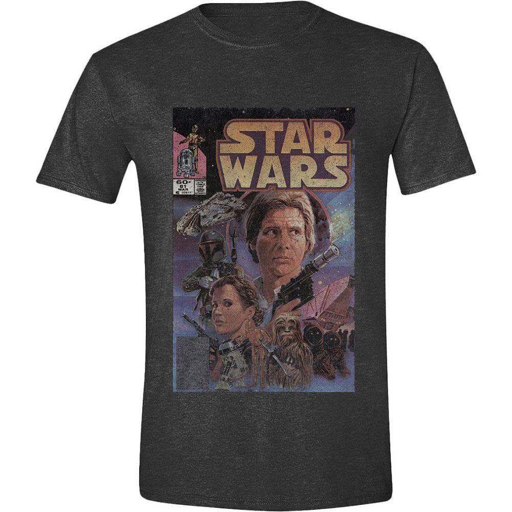 Star Wars T-Shirt Han Solo Retro Size S