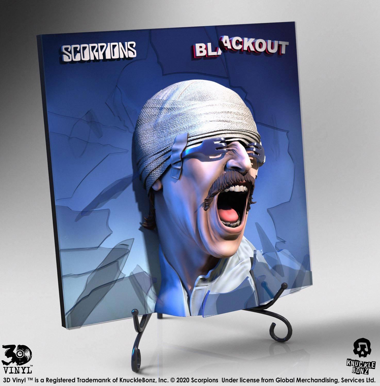 Scorpions 3D Vinyl Statue Blackout 30 cm