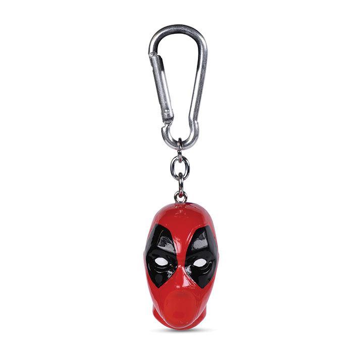 Deadpool 3D-Keychains Head 4 cm Case (10)