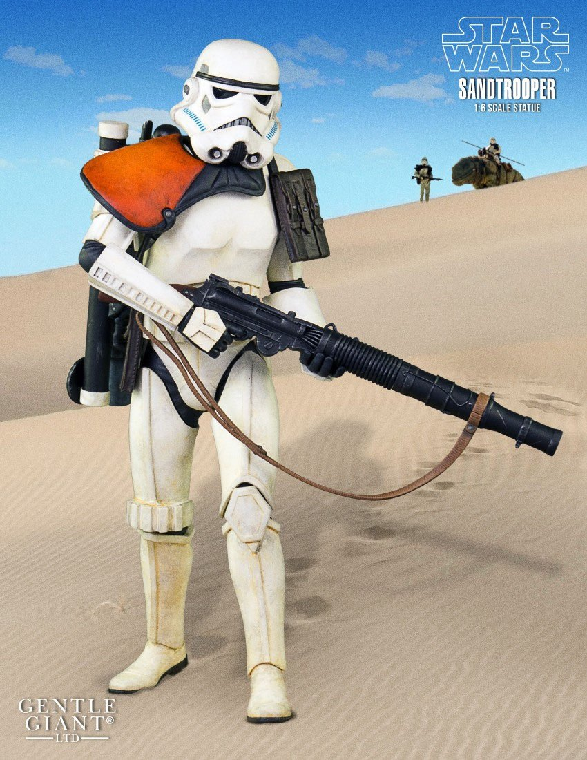 Star Wars Statue 1/6 Sandtrooper 31 cm --- DAMAGED PACKAGING