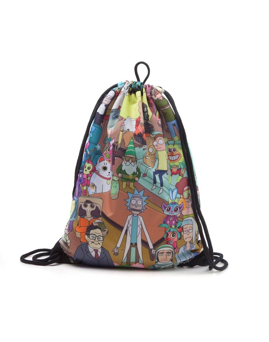 Rick and Morty Gym Bag Characters