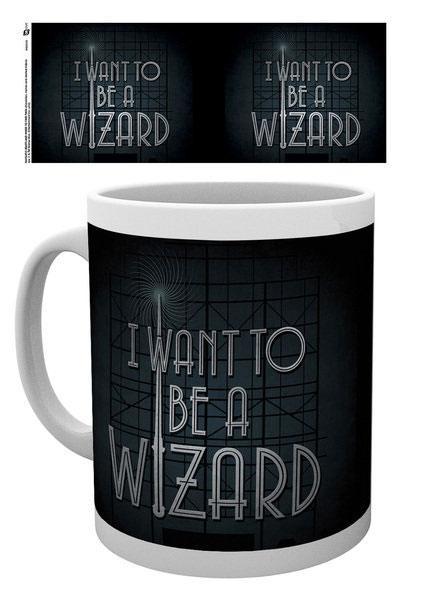 Fantastic Beasts Mug I Want To Be A Wizard