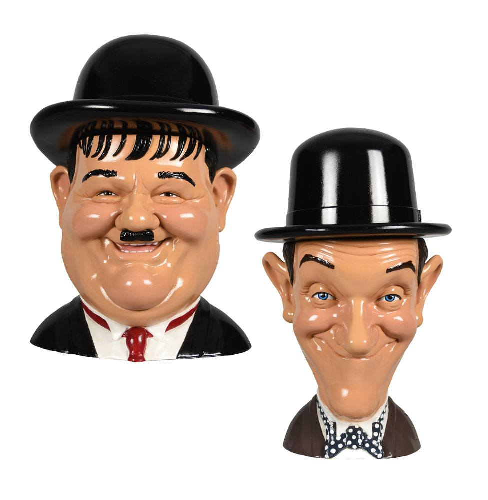Laurel and Hardy Storage Jar 2-Pack Laurel & Hardy