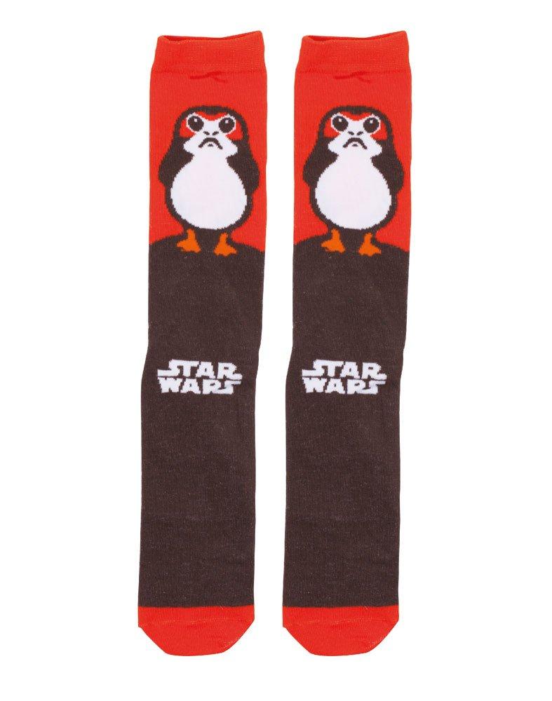 Star Wars Episode VIII Crew Socks Porgs  Size M