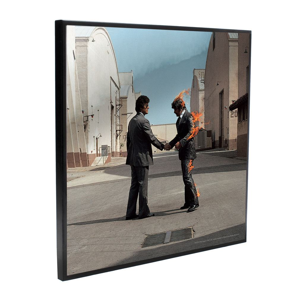Pink Floyd Crystal Clear Picture Wish You Were Here 32 x 32 cm