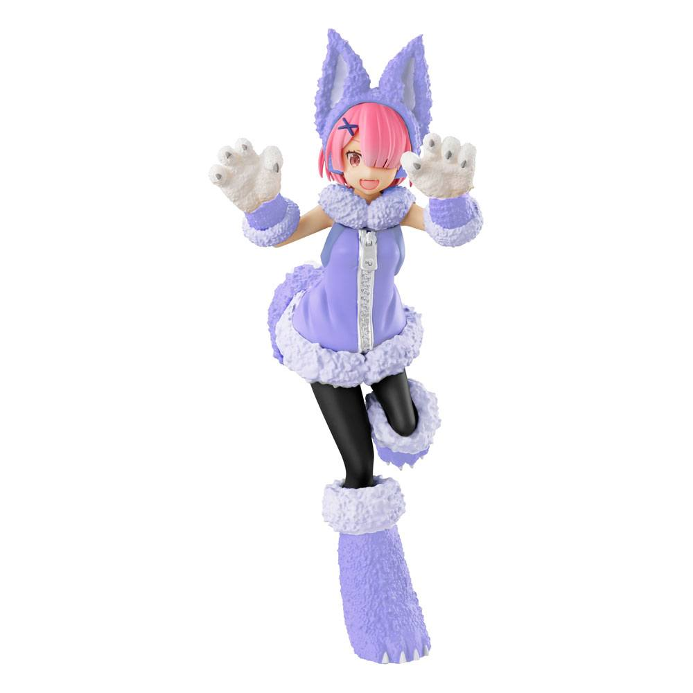 Re:ZERO SSS PVC Statue Ram The Wolf and the Seven Kids 21 cm