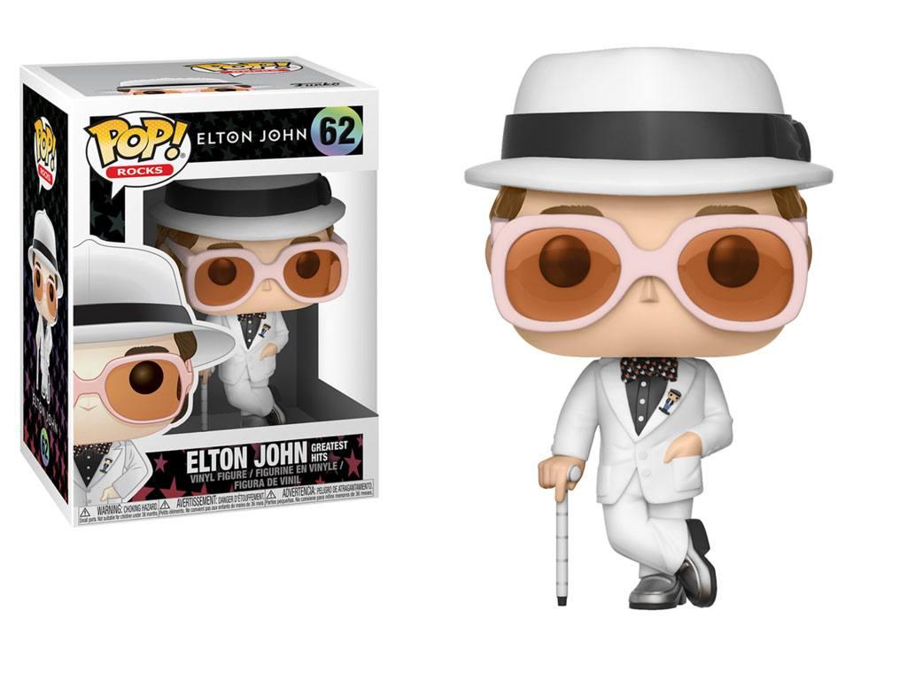 Elton John POP! Rocks Vinyl Figure Elton John Greatest Hits 9 cm