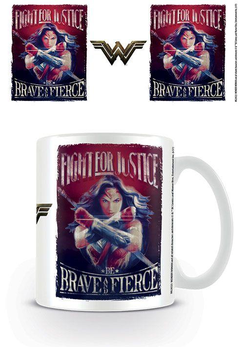 Wonder Woman Mug Fight For Justice