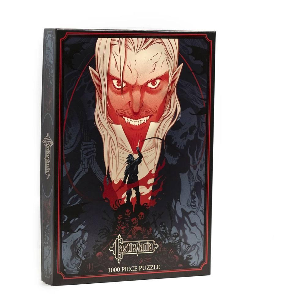 Castlevania Jigsaw Puzzle Dracula vs Belmont (1000 pieces)