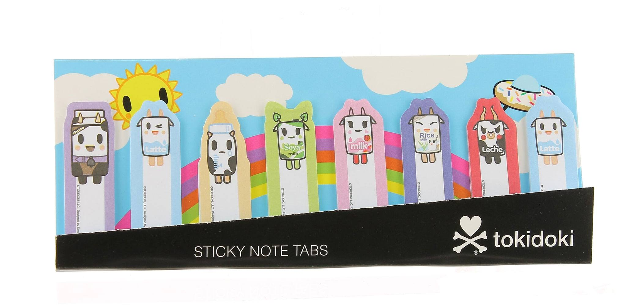 Tokidoki Sticky Note Tabs Members