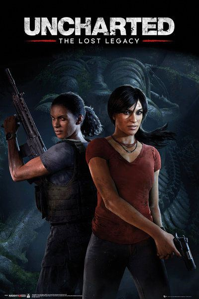 Uncharted The Lost Legacy Poster Pack Cover 61 x 91 cm (5)