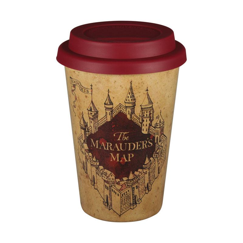 Harry Potter Travel Mug Marauders Map