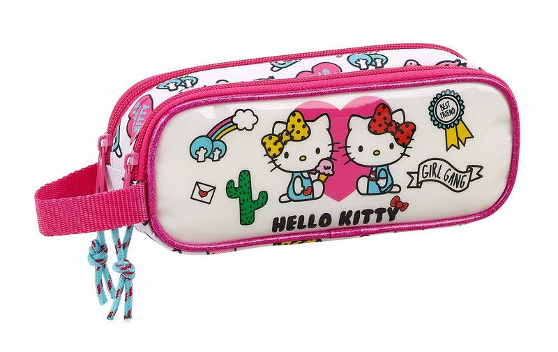 Hello Kitty Double Pencil Case Girl Gang 21 cm