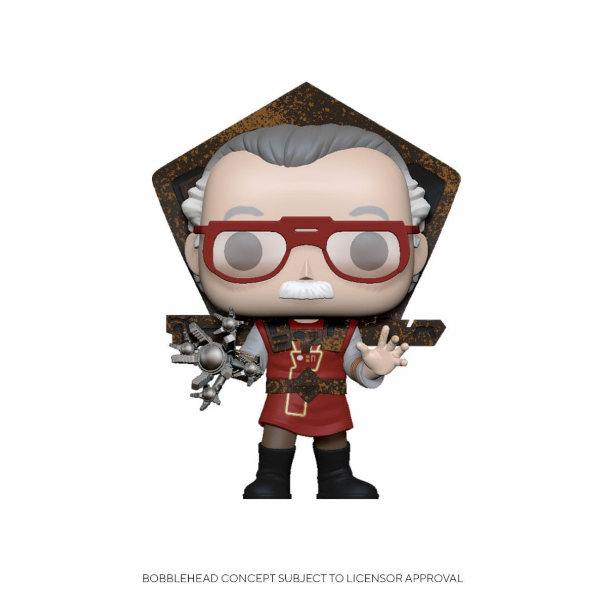 Stan Lee POP! Icons Vinyl Figure Stan Lee in Ragnarok Outfit 9 cm