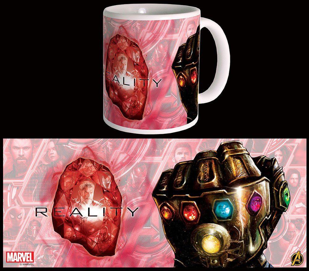 Avengers Infinity War Mug Reality Stone