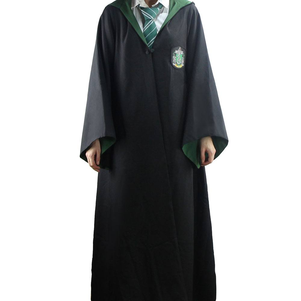 Harry Potter Wizard Robe Cloak Slytherin Size L