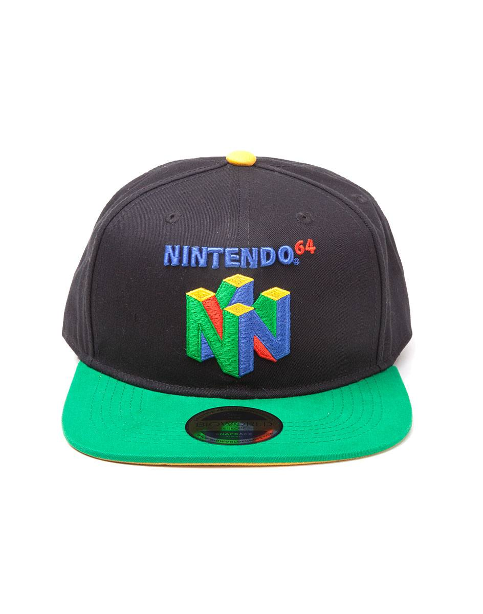 Nintendo Snapback Cap N64 Logo