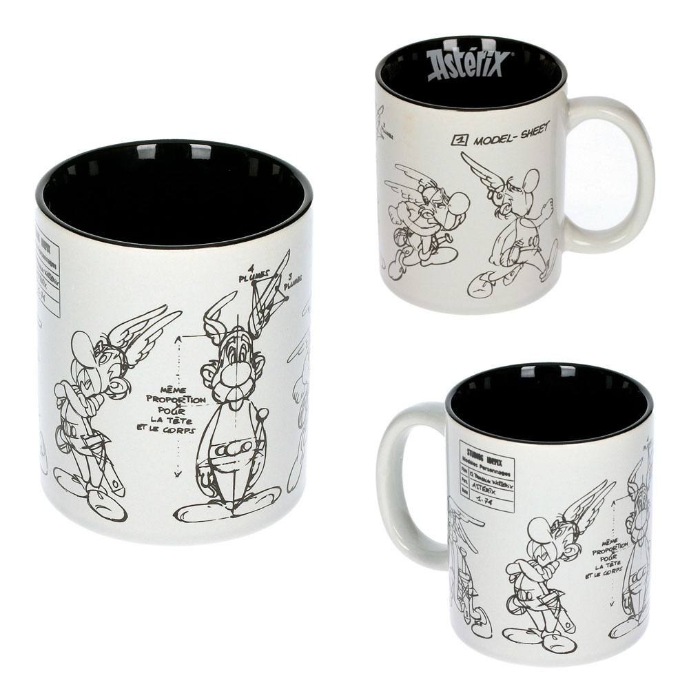 Asterix Mug Character Sketch