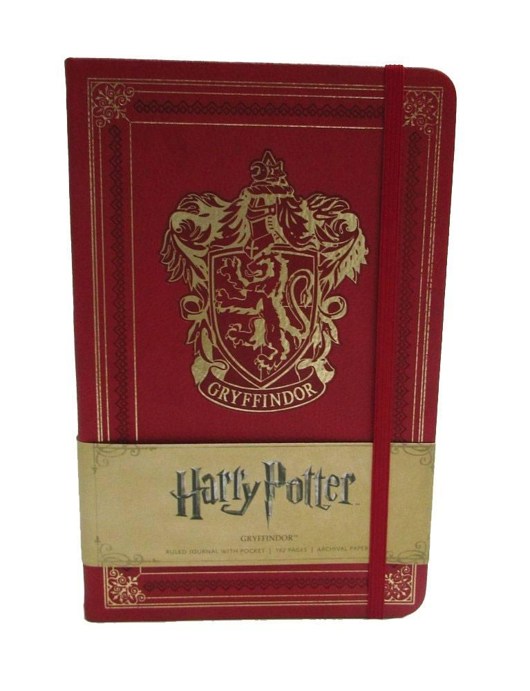 Harry Potter Hardcover Ruled Journal Gryffindor
