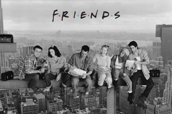 Friends Poster Pack Skyscraper 61 x 91 cm (5)