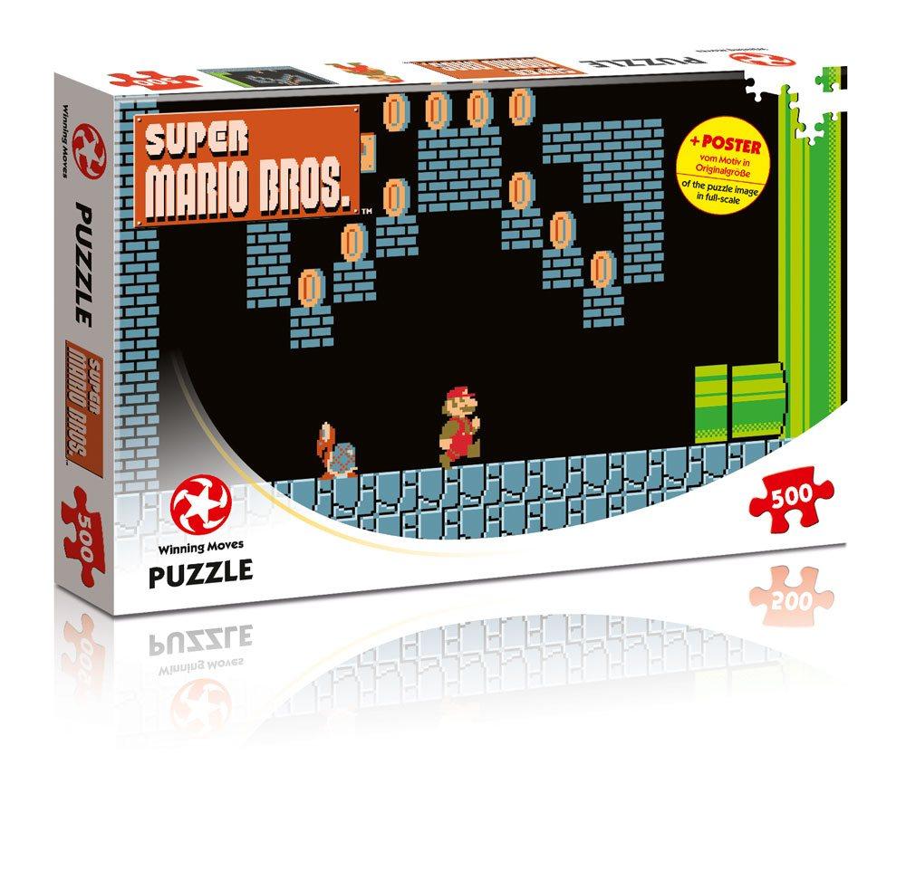 Super Mario Bros. Jigsaw Puzzle Underground Adventures
