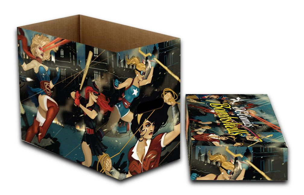 DC Comics Storage Boxes DC Bombshells 23 x 29 x 39 cm Case (5)