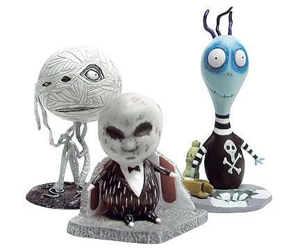 Tim Burton PVC Figure Set #2 Toxic Boy 10 cm
