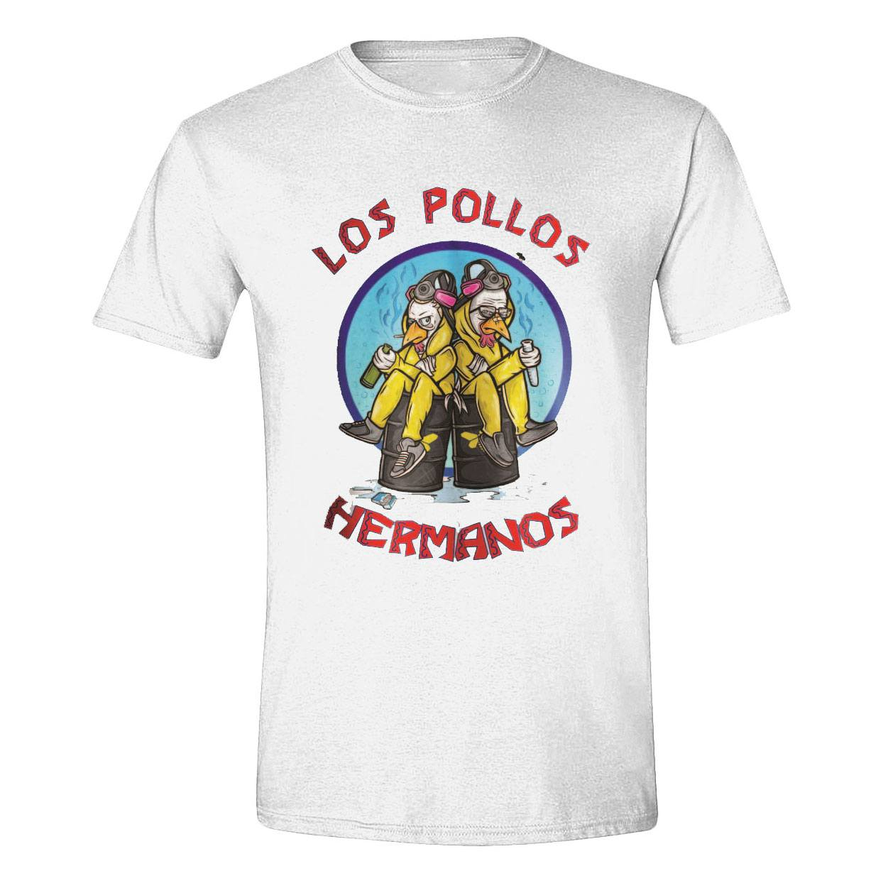 Breaking Bad T-Shirt Los Pollos Cooks Size L
