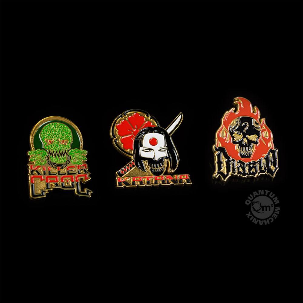 Suicide Squad Pin 3-Set 2