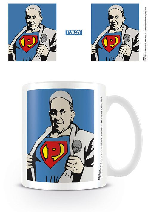 TVBOY Mug Super Pope