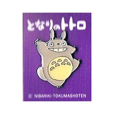 My Neighbor Totoro Pin Badge Big Totoro Dancing