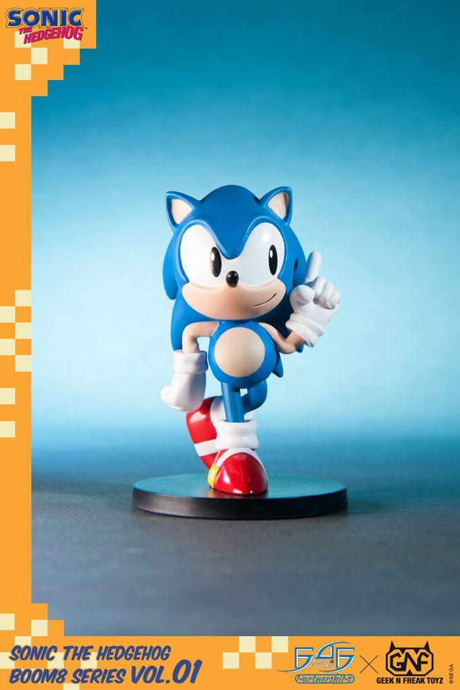 Sonic The Hedgehog BOOM8 Series PVC Figure Vol. 01 Sonic 8 cm