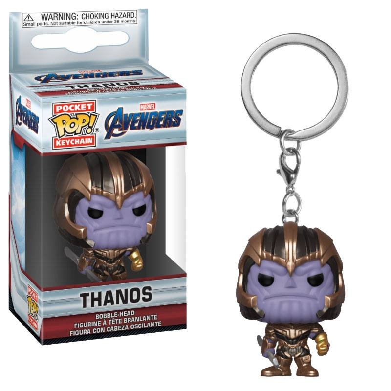 Avengers Endgame Pocket POP! Vinyl Keychain Thanos 4 cm