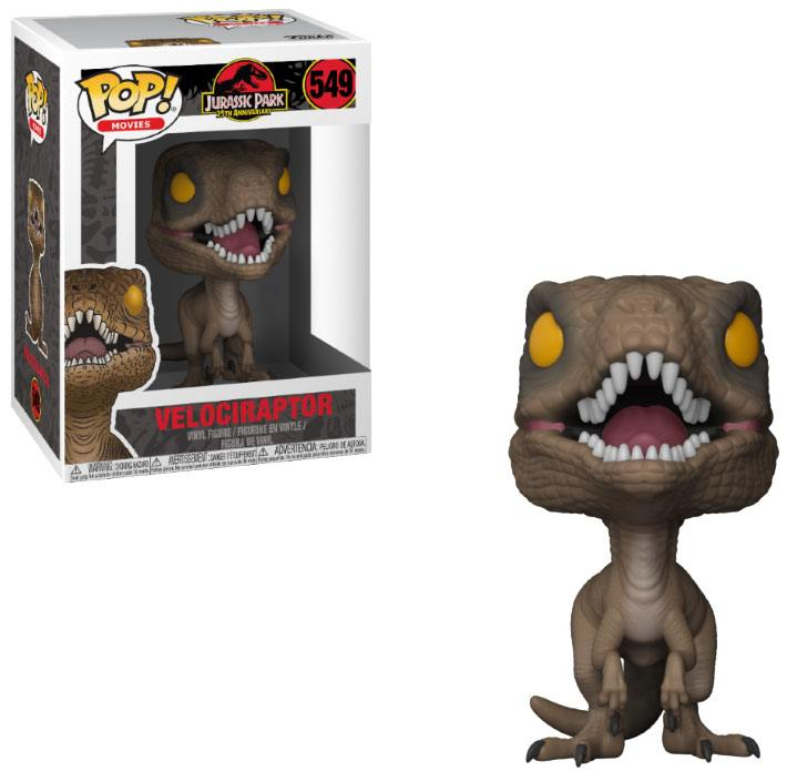 Jurassic Park POP! Movies Vinyl Figure Velociraptor 9 cm