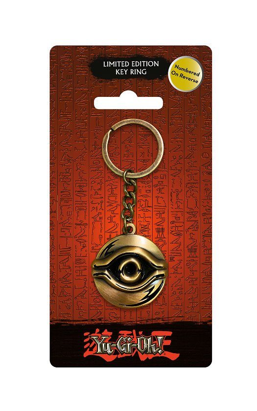 Yu-Gi-Oh! Metal Keychain Millennium Eye