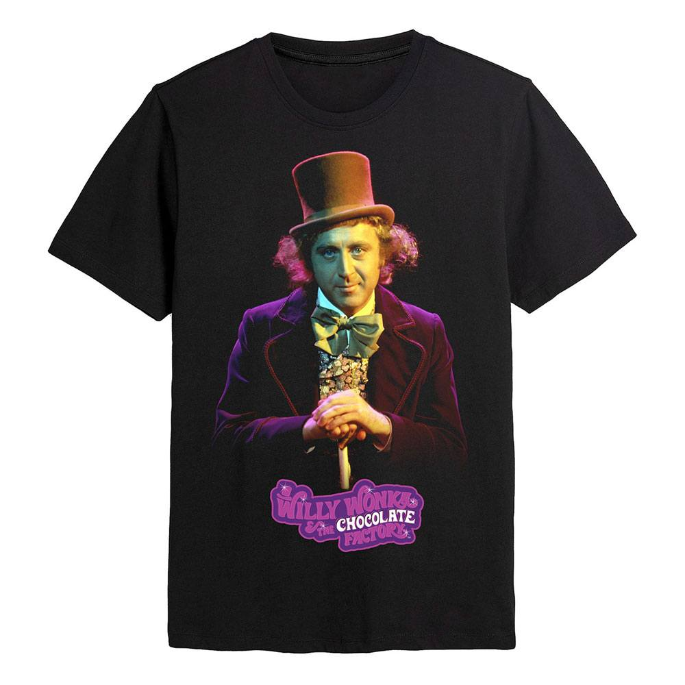 Willy Wonka & the Chocolate Factory T-Shirt Willy Wonka Size L