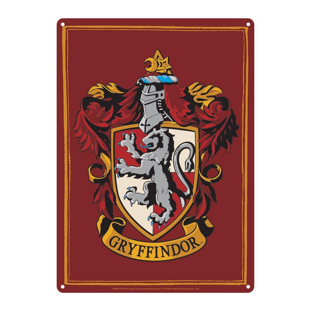 Harry Potter Tin Sign Gryffindor 21 x 15 cm