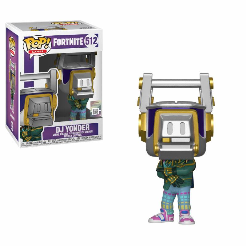 Fortnite POP! Games Vinyl Figure DJ Yonder 9 cm