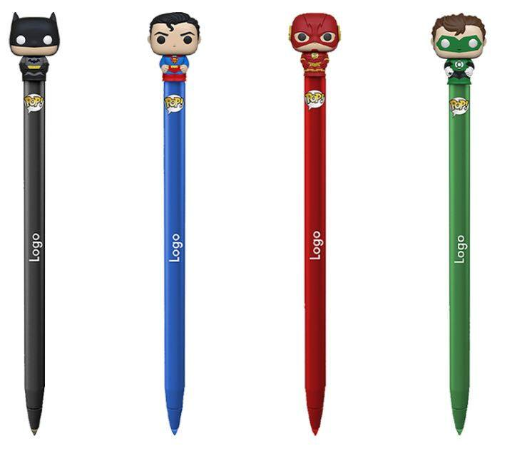 DC Comics POP! Homewares Pens with Toppers Display (16)
