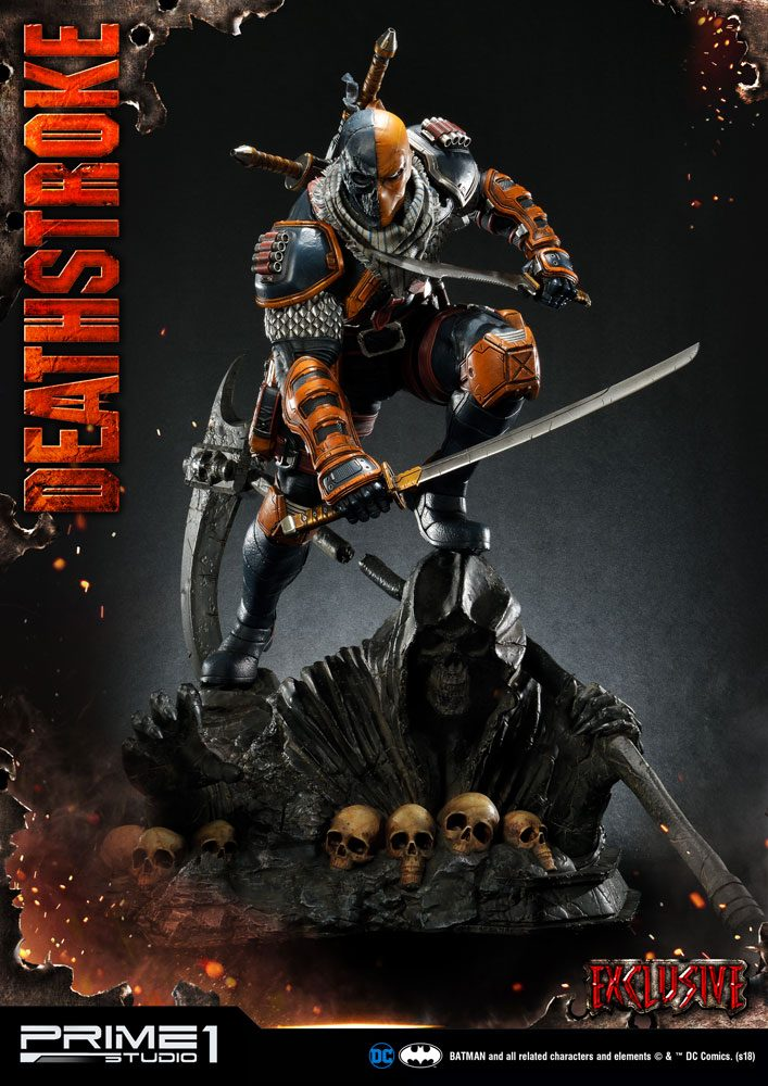 DC Comics Statues 1/3 Deathstroke & Deathstroke Exclusive 75 cm Assortment (3)