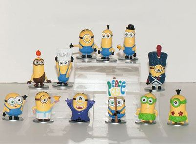 Minions Mini Figures 5 cm Surprise Pack Display (30)