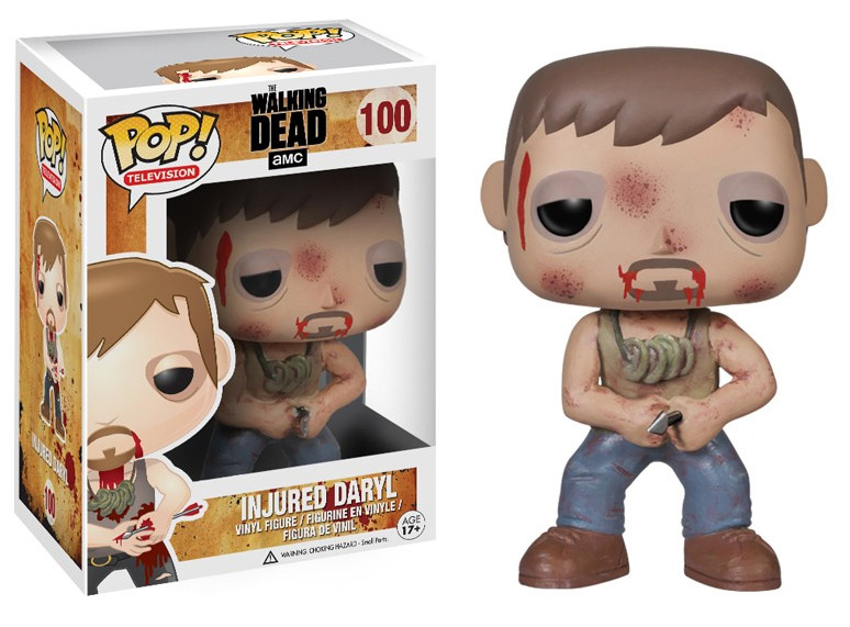 The Walking Dead POP! Vinyl Figure Daryl with Arrow 10 cm