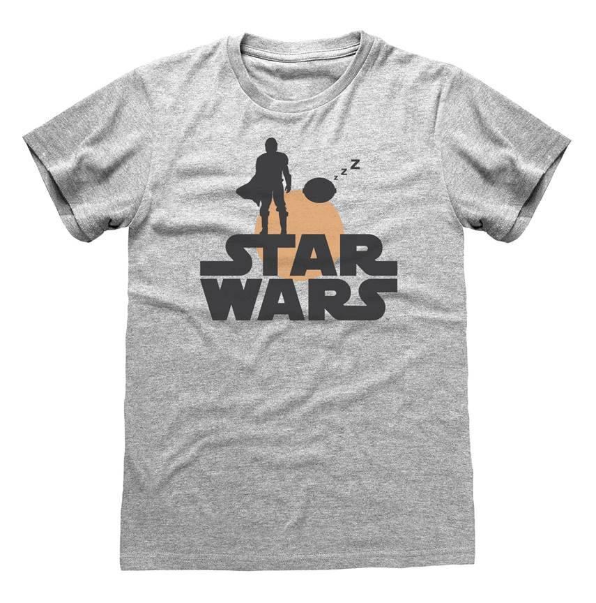 Star Wars The Mandalorian T-Shirt Silhouette Size XL